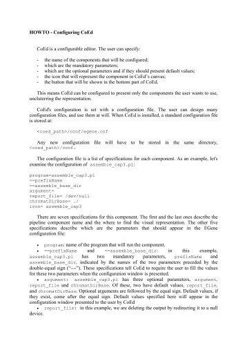CoEd configuration