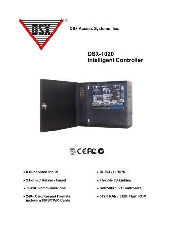 Dsx 1042 panel wiring diagram wiring center dsx 1022 intelligent two door controller sas access systems rh yumpu com telect dsx panel dsx cheapraybanclubmaster Image collections