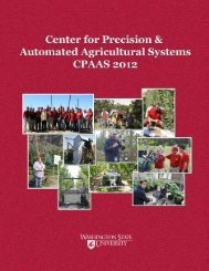 Center for Precision & Automated Agricultural Systems Annual Report
