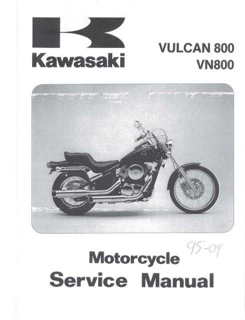 Kawasaki VN800 Vulcan 96-04 Service Manual ENG By Mosue