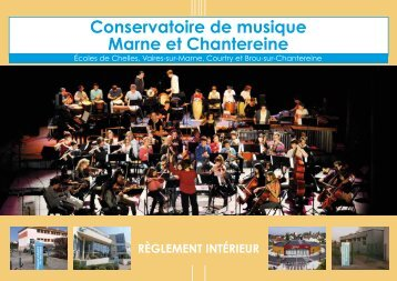 Conservatoire de musique Marne et Chantereine - Communauté d ...