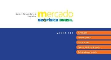 Mídia Kit - Geofísica Brasil