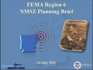 FEMA Region VI New Madrid Update