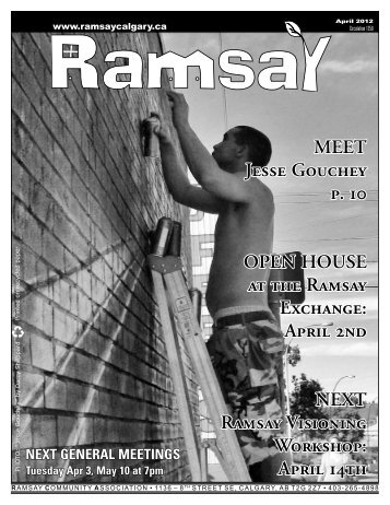 April - Ramsay Community Association in Calgary