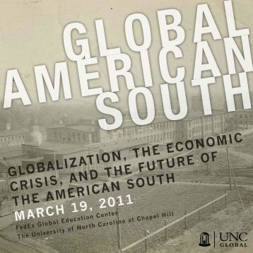 Globalization, the economic crisis, and the Future oF the american ...