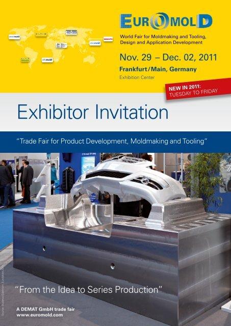 Exhibitor Invitation - Euromold