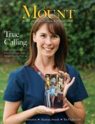 True Calling - Mount St. Mary's College