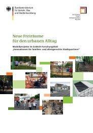 ( Hrsg. ): Neue Freiräume für den urbanen Alltag - Nationale ...