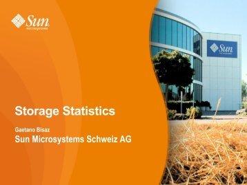 Storage Statistics