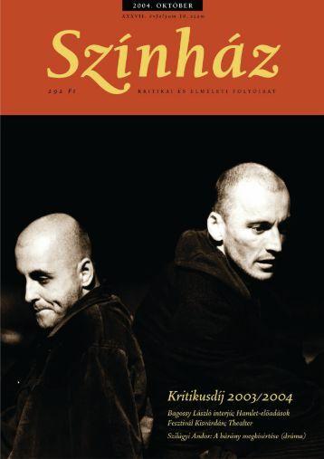 2004. október - Színház.net