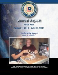 Annual Report 2011 - Help Hospitalized Veterans