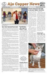 November 14, 2012 - Ajo Copper News