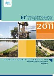 Relatório de Gestão AGEVAP - Exercício 2011 - ceivap
