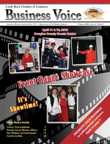 February 2008 - Castle Rock Chamber of Commerce