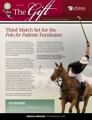 Polo for Patients - The Nebraska Medical Center