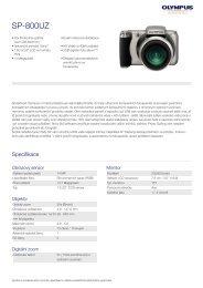 SP-800UZ, Olympus, Compact Cameras