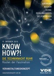 KNOW-HOW?! Die Techniknacht Ruhr 2013