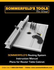 SOMMERFELD'S TOOLS For Wood - Digital Marketing Services
