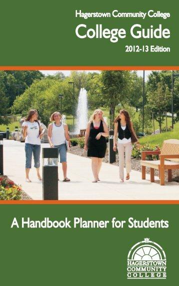 Student Handbook 2012-2013 - Hagerstown Community College