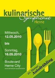 12.05.2010 bis - Kulinarische Symphonie Herne