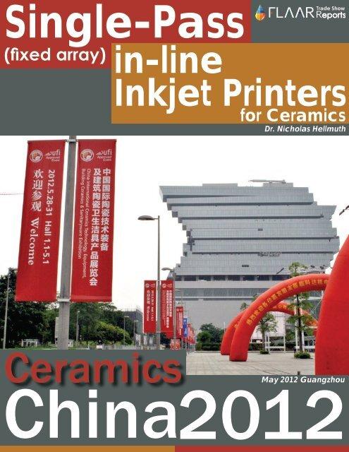 Ceramics China 2012, Single-Pass - large-format-printers.org