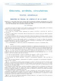 Journal Officiel de la Tarification à l'activité - SRLF