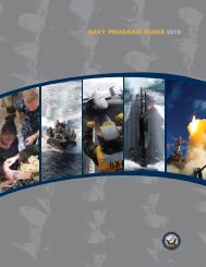 NAVY PROGRAM GUIDE 2010 - The US Navy