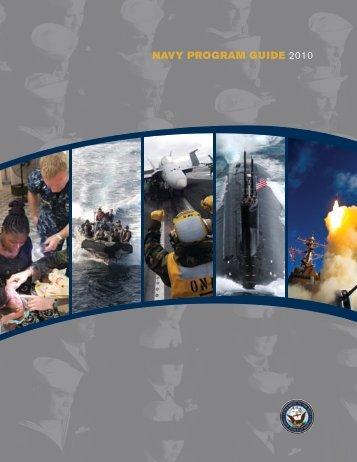 NAVY PROGRAM GUIDE 2010 - The US Navy