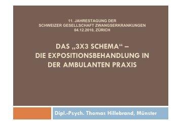 3x3 schema - Klinik für Psychiatrie und Psychotherapie