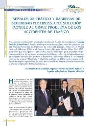 señales de tráfico y barreras de seguridad flexibles: una solución ...