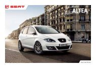 SEAT Altea XL Brochure