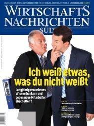 Ausgabe 05/2011 Wirtschaftsnachrichten Süd