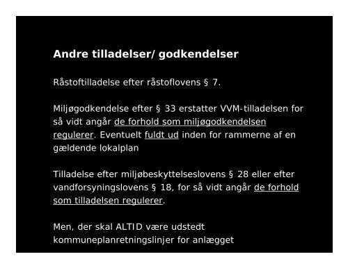 VVM-tilladelsen byplanlab Vejle.PPT