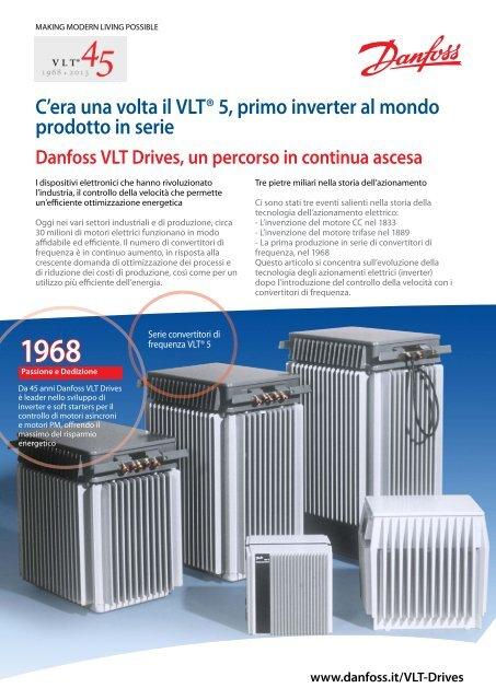 C'era una volta il VLT® 5, primo inverter al mondo ... - Danfoss