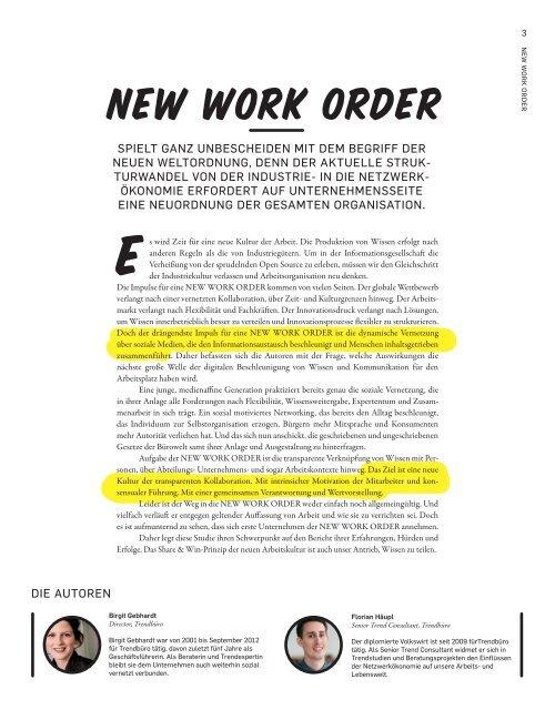 New work order - buero-forum.de