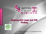 1 slide per page - GenoToul bioinformatics