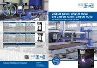Brochure ZINSER 4025B / 4125B / 4026B / 4126B
