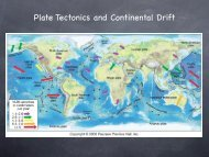 Plate Tectonics and Continental Drift - Geology Home Page