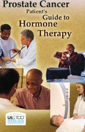 Prostate Cancer Patient's Guide to Hormone Therapy - US TOO ...