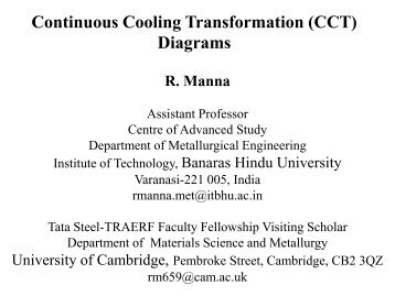 Time temperature transformation ttt diagrams department of continuous cooling transformation cct diagrams ccuart