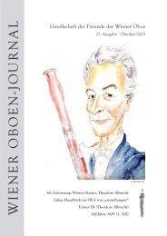 für oboe, klarinette und fagott -  Wiener Oboe