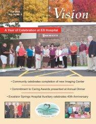 A Year of Celebration at ES Hospital - Excelsior Springs Hospital