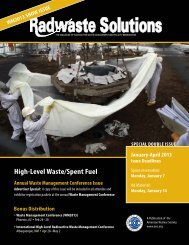 Next Issue - American Nuclear Society