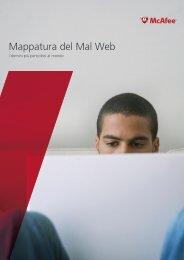 Mappatura del Mal Web - McAfee