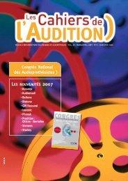 Télécharger le PDF complet N°2 Année 2007 - Collège National d ...