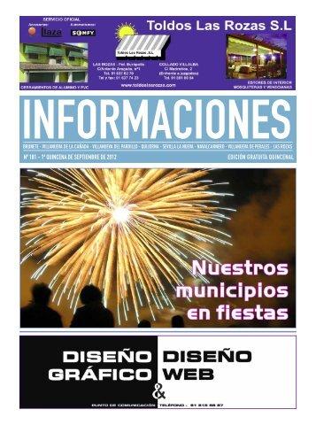 nº 181 - 1ª quincena de septiembre de 2012 edición gratuita quincenal