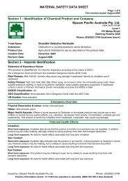 Grasidim Selective Herbicide - Agsure