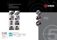 CHICK SYSTEM 5 2008 catalogo_generale - SEF meccanotecnica