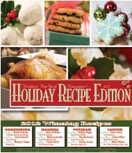 Holiday Recipe 2012 - Watertown Daily Times