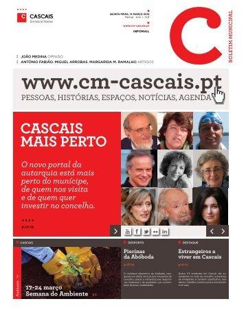 CASCAIS MAIS PERTO - Câmara Municipal de Cascais